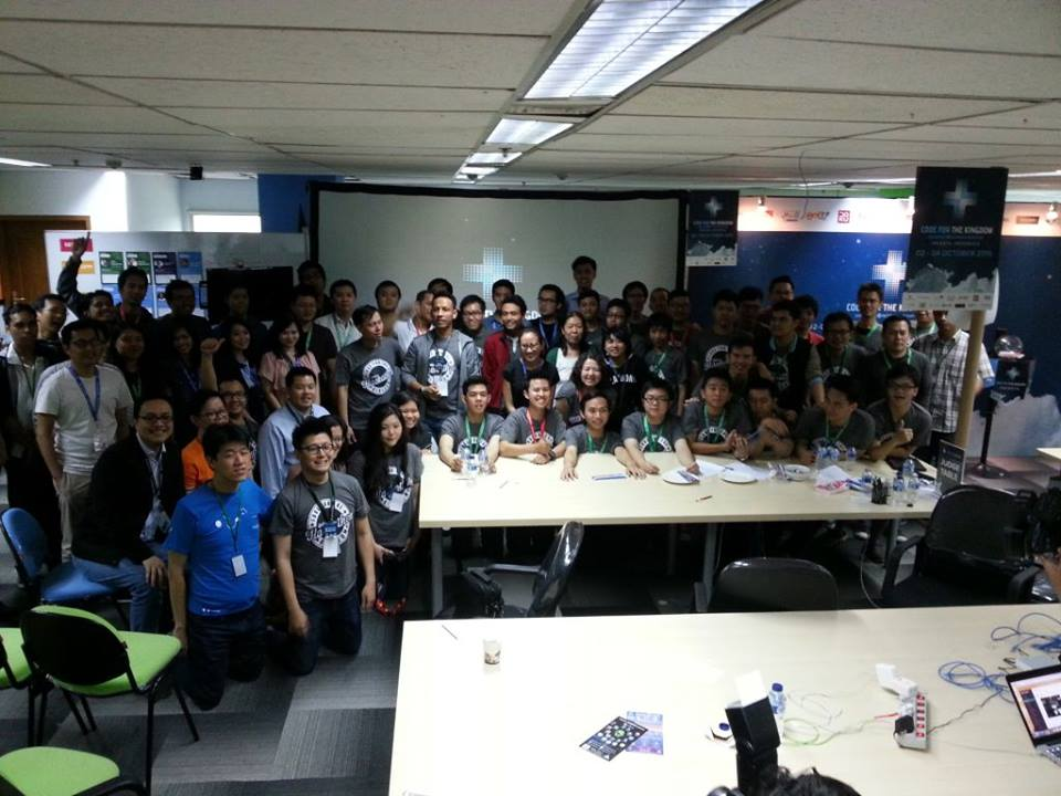 Apps4God dalam Hackathon Code for the Kingdom