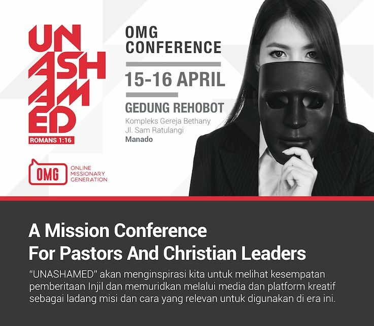 Online Missionary Generation (OMG) Conference Manado 2016