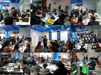 Hackathon Code for the Kingdom 2016 di Jakarta